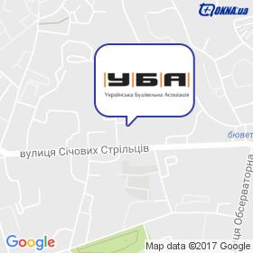 Українська Будівельна Асоціація (УБА) на мапі