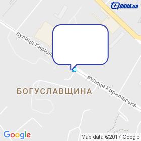 УДК на мапі