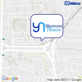 Украина Пласт на карте