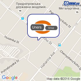 Uners Group на карте