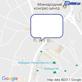 ЮніверВікна на мапі