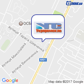 УкрПромСкло на мапі