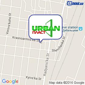 Урбан-Пласт на карте