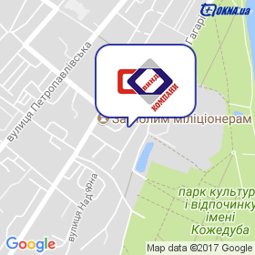 Віндкомпані-С на мапі