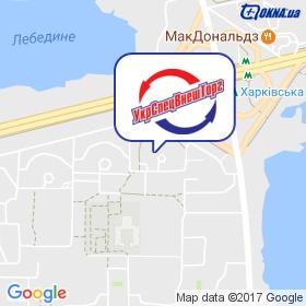 УкрСпецВнешТорг, ТД на карте