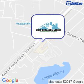 УЮТ У ВАШОМУ ДОМІ на мапі