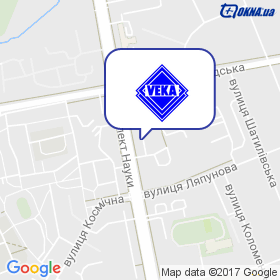 Veka Харків на мапі