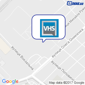 VHS на мапі
