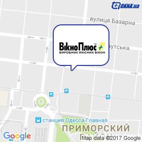 ВікноПлюс, представительство на карте