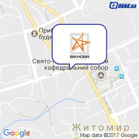 Вікнова (ПП Суханов) на карте