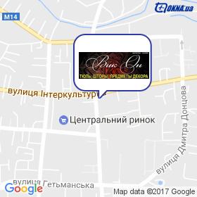 ВікОн на мапі