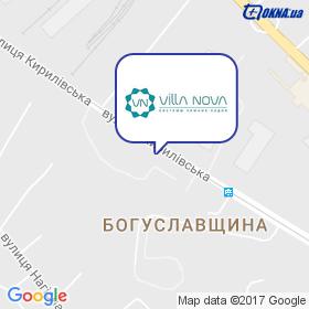 Вілла Нова на мапі