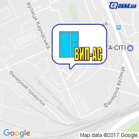 ВІП-АС на мапі