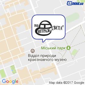 ВИТРАЖ-СВЕТА на карте