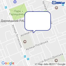 Витрал на карте
