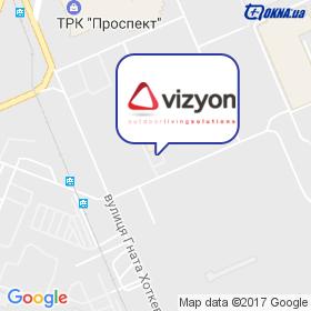 Vizyon на мапі