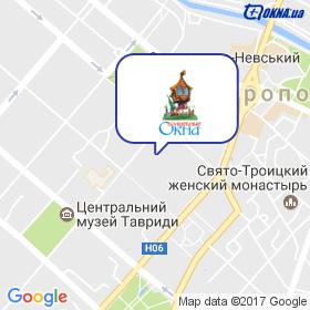 ЧАРІВНІ ВІКНА на мапі