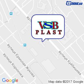 ВСБ-Пласт на мапі