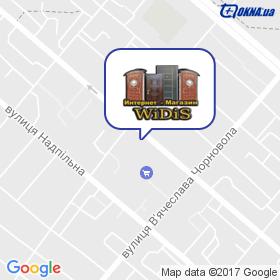Відіс на мапі