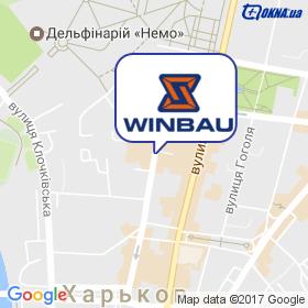 WINBAU на карте