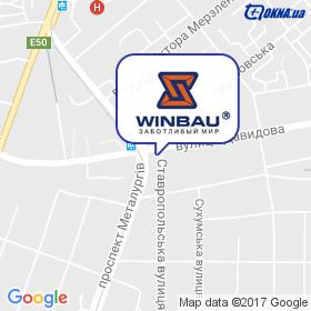 Winbau (Дніпро) на мапі