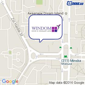 WINDOM на карте