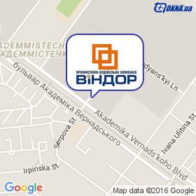 ВИНДОР ПСК на карте