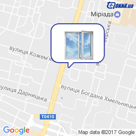 WinDors на мапі