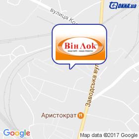 ВинЛок на карте