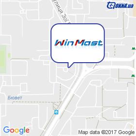 WinMast на карте