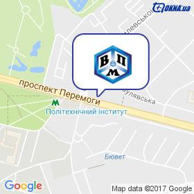 ВПМ на мапі
