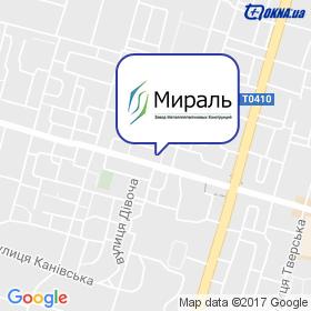 ЗМК Мираль на карте