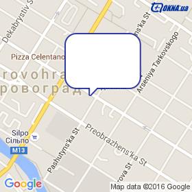 Жданович на карте