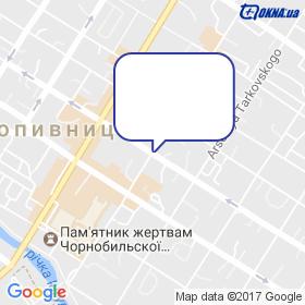Жданович на мапі