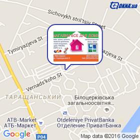 Журавель Н.М. на карте