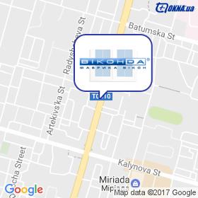 Виконда, фирменный салон на карте