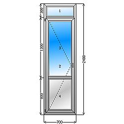 балконная дверь цена. Балконная дверь с фрамугой