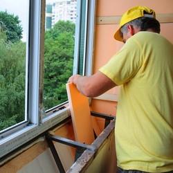 Утепление балконов экструдированным пенополистиролом.