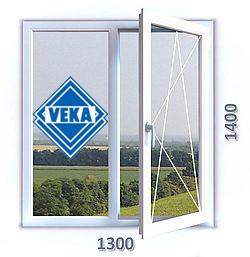 Стоимость окна 1300Х1400
