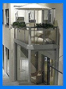 Многоярусные балконы