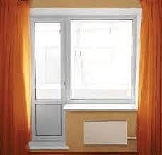 Балконный блок или выход на балкон