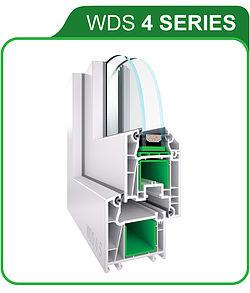 WDS 4 SERIES — технические характеристики 4-камерной профильной системы