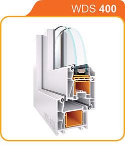 WDS 400 — технические характеристики 4-камерной профильной системы