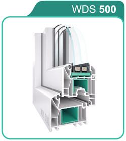 WDS 500 — технические характеристики 5-камерной профильной системы