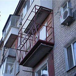 Расширение жилой площади квартиры за счёт балкона от компании Good Master Харьков