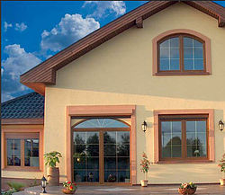 Металлопластиковые окна в частный дом, загородний коттедж - элегантные и долговечные!