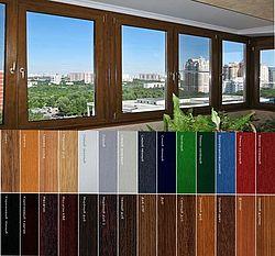 Цветные окна - оригинальное решения для дома.