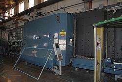 Стеклопакетная линия Lisec 2000 x 3500 с роботом герметизации