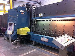 Стеклопакетная линия Lisec 1600 х 2500 с газ прессом
