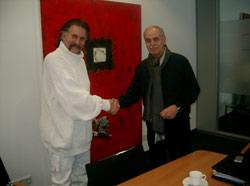 Луиджи Колани вместе с Манфредом Ю. Зайтц